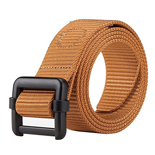 Dew Tactical Nylon Duty Army Belt For Men Military Style Casual Outdoor Adjustable Webbing Buckle Operator Orange Belt for Men