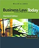 img - for R. L. Miller's G. A. Jentz's Business Law Today 9th edition(Business Law Today, Standard Edition [Hardcover])(2010) book / textbook / text book