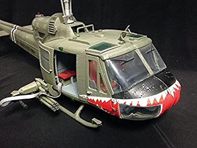 "UH-1 Huey - 1/18 Scale! U.S. Army 174th Assault Helicopter Company ""Shark"""