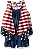 Limited Too Girls' Big Romper, 3155 Multi, 12