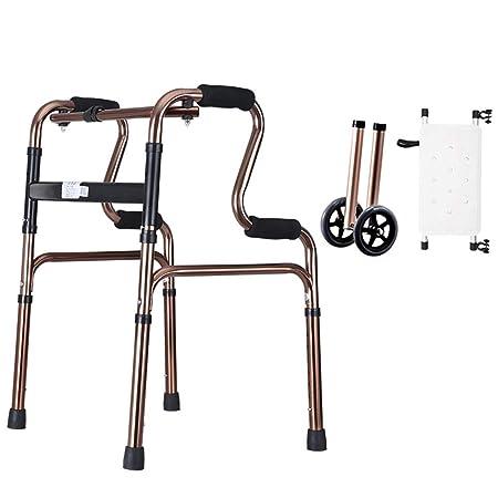 OUUCL-OT Andador de Andador Plegable for Personas de la ...