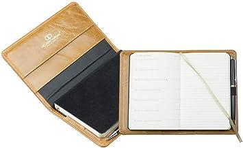 Kalender Terminplaner mit Wochenübersicht Taschenkalender 2021 Premium Leder