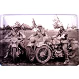 Army Pin Up Motiv 1 Blechschild Metallschild Schild gewölbt Tin Sign 20 x 30 cm