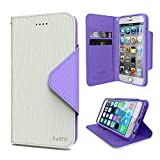 iPhone 6S Case, Cellto PU Leather Wallet Cover Stand and Reversible Magnetic Flap [Lifetime...