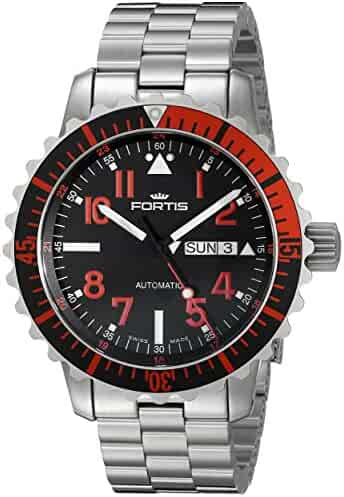 Fortis Men's 670.23.43 M Marinemaster Self-Wind Stainless Steel Watch