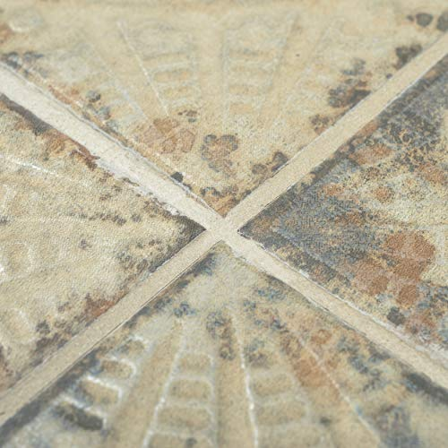 SomerTile FPESAJB Murcia Ceramic Floor and Wall Tile, 13'' x 13'', Blanco by SOMERTILE (Image #5)