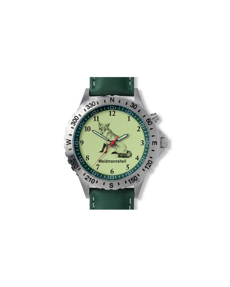 Greiner 1209-D Armbanduhr Motiv Fuchs