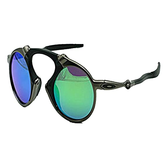288129931 Shop 6 Sunglasses Polarized sunglasses circular sports sunglasses Knight  ski Sunglasses blue green: Amazon.co.uk: Clothing