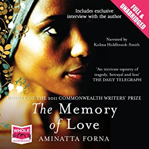 The Memory of Love Audiobook
