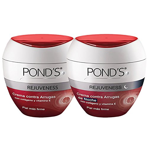 Bundle/combo!!! Pond's Rejuveness Anti-wrinkle Cream Day and Night 7oz (200gr) Pond's Rejuvecedora Contra-las Arrugas De Dia Y Noche 7oz (Bundle Combo)