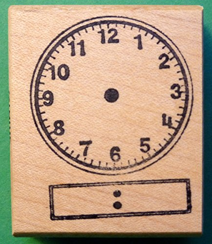 Clock Stamp - Digital Display Handless Clock Teacher's Rubber Stamp