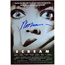 Wes Craven Signed / Autographed Scream Movie Poster 8x10 Glossy Photo. Includes FANEXPO Certificate of Authenticity and Proof. Entertainment Autograph Original.
