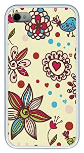 iPhone 4 4S Cases and Covers Beautiful Textures Custom Designer iPhone 4s/4 Case Cover - TPU - White