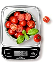 Easy@Home Digital Kitchen Food Scale, Multifunction Food Scale with High Precision to 0.04oz and 11 lbs Capacity, EKS-202