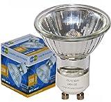 Long Life Lamp Company GU10 50 Watt Halogen TOP Brand Lamp Light Bulb (Pack of 10)