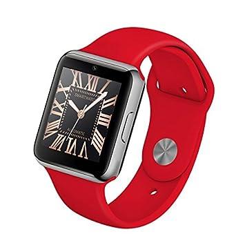 "Leotec LESW03R 1.54"" IPS Negro, Plata reloj inteligente - Relojes inteligentes (3,"