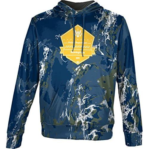 new ProSphere Boys' Hampton Police Department Marble Hoodie Sweatshirt (Apparel) save more