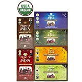 Pride Of India - Organic Assorted Indian Tea, 25 Count (6-Pack)
