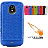 Hyperion Samsung Galaxy Nexus Extended Battery HoneyComb TPU Case Blue (Hyperion Retail Packaging) **Compatible with ALL Hyperion, Qcell, and Anker Galaxy Nexus Extended Battery Models**
