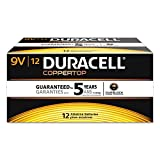 Coppertop Alkaline Batteries, 9v, 72/ct