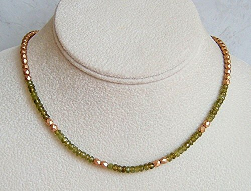 4mm Peridot Satin - 3