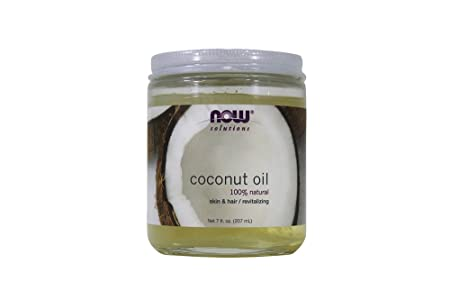 Now Foods Coconut Oil – 7 oz. 4 Pack
