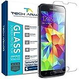 Tech Armor Premium Ballistic Glass Screen Protector for Samsung Galaxy S5 [1-Pack]