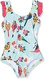Hatley Girls' Bow Back Ruffle Swimsuit