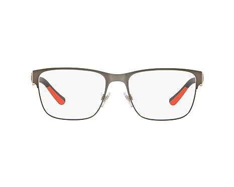 Ralph Lauren POLO 0PH1186 Monturas de gafas, Matte Gunmetal, 54 ...