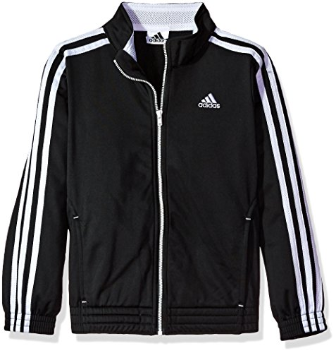 Price comparison product image Adidas Little Girls' Track Jacket, Black, 6X