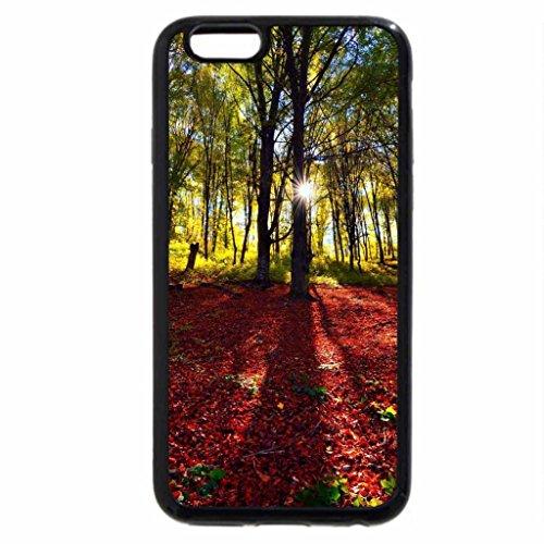 iPhone 6S Case, iPhone 6 Case (Black & White) - Poiana Rusca Mountains - Timis County, Romania