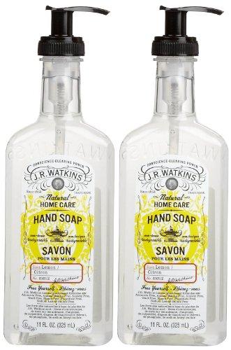 J R WATKINS Soap Lemon Pack