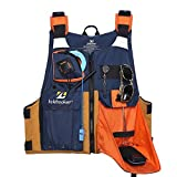 Kylebooker New Outdoor Fly Fishing Vest Kayak Fishing Life Jacket Men Breathable Safety