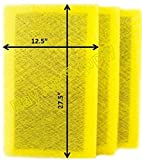 RAYAIR SUPPLY 14×30 Air Ranger Replacement Filter Pads 14X30 (3 Pack) Yellow Review