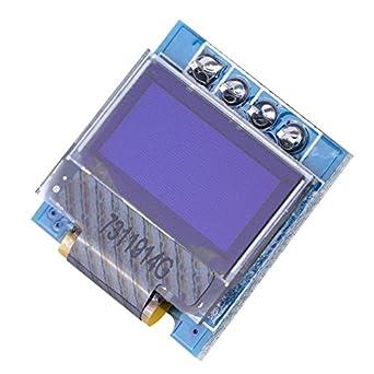 Akozon DIY Display Module, 0 49 inch OLED Display Module SSD1306 Resolution  12832 I2C IIC Interface(White)