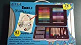 Art 101 Doodle Draw & Sketch Supply Set, 82 Piece by Art 101