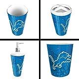 The Northwest Company Detroit Lions NFL 4 Piece Bathroom Decorative Set (Scatter Series)