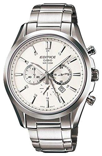 24eab155dde6 Casio Men s Watch Edifice Chronograph Quartz Stainless Steel EFB 504D  7AVEF  Amazon.co.uk  Watches