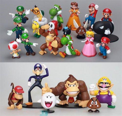 24pcs (Donkey Kong Head Costume)