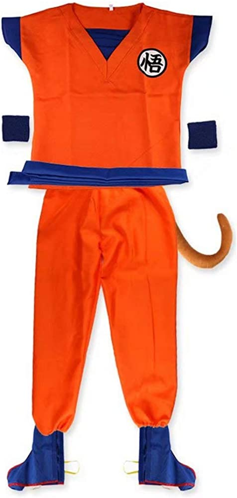 Disfraz de Dragon Ball His Goku Vestir Traje de Dormir Vestido ...