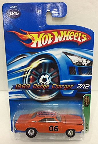 2006 Hot Wheels Super Treasure Hunt 1969 Dodge Charger 07/12 RARE and HTF!!! Voted One Of The Most Hunted Supers!!!!