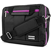 Microsoft Surface Pro 3 / Pro 4 Lightweight Water Resistant Nylon Messenger Bag Convertible to Backpack [Carry-On] [TSA]