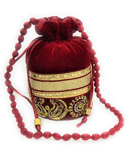 Potli Gifts Maroon Bag...