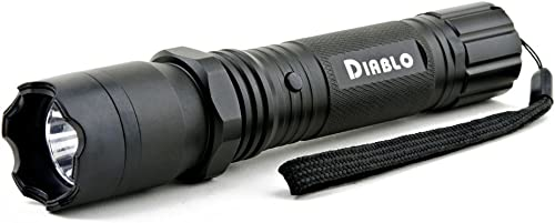 Guard Dog Security Diablo Stun Gun with Flashlight Police Strength Stun Gun with Concealed Technology Personal Defense Equipment Rechargeable
