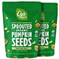 Go Raw Sprouted Pumpkin Seeds, Pack of 2 Bags | Keto | Vegan | Gluten Free Snacks| Organic | Superfood
