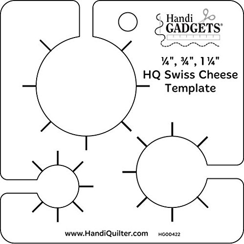 Handi Quilter Swiss Cheese Template by Handi Quilter, Inc