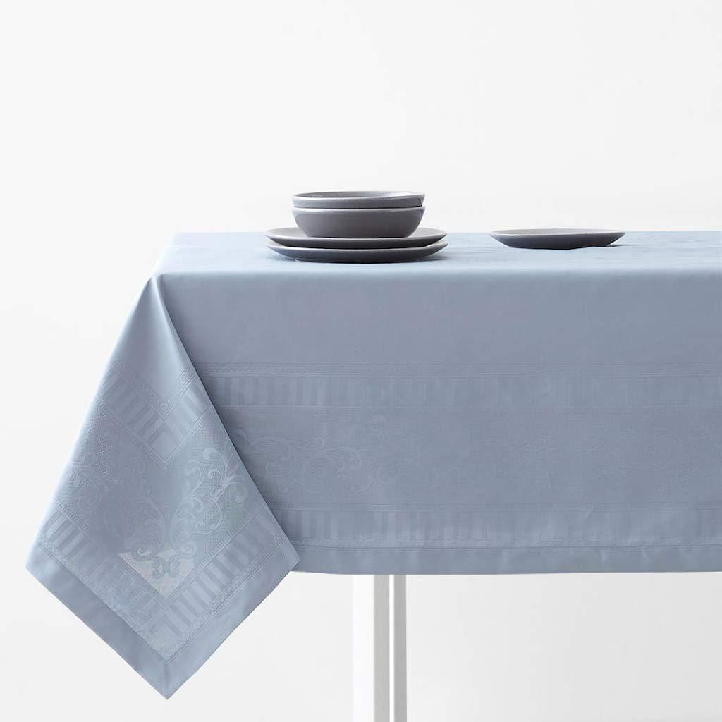 テーブルクロス、サテンの織り目加工のジャカードティーテーブルダイニングテーブルテレビキャビネットのテーブルクロス防塵テーブルカバー、ディナーパーティー用、夏&屋外ピクニック   B07S1TBFWX