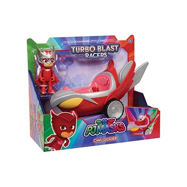 PJ Masks Turbo Blast Vehicles – Owl Glider & Owlette Figure