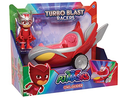 PJ Masks Turbo Blast Vehicles Owlette