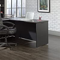 Sauder Via Desk Return in Bourbon Oak